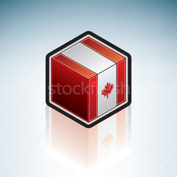 Canada { North America } Stock photo © Vectorminator