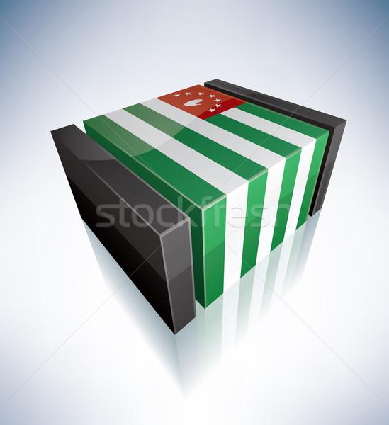 3D flag of Abkhazia Stock photo © Vectorminator
