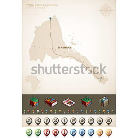 Eritrea Stock photo © Vectorminator