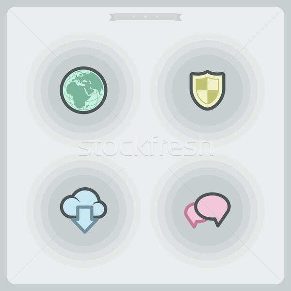 Internet Icons Stock photo © Vectorminator