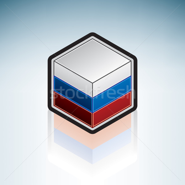Russia { Europe } Stock photo © Vectorminator