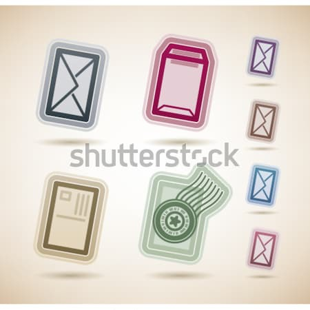 Ufficio fornire oggetti strumenti top Foto d'archivio © Vectorminator