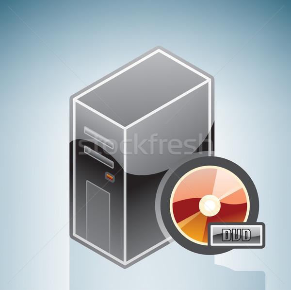 Computer DVD Disk Stock photo © Vectorminator
