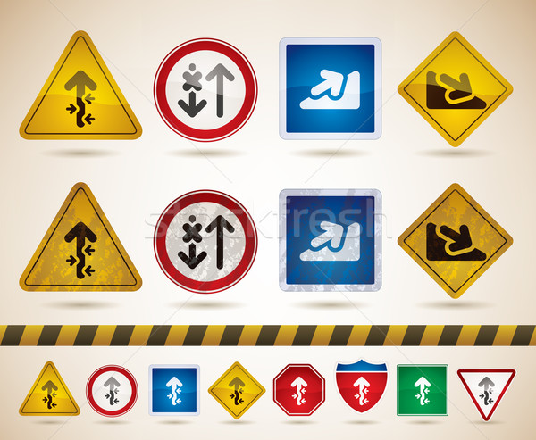 Moving directions Stock photo © Vectorminator