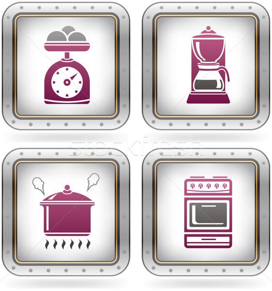 Сток-фото: кухне · повседневный · инструменты · масштаба · кофеварка
