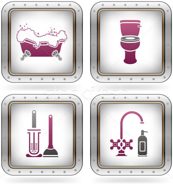 Сток-фото: ванны · ванную · другой · повседневный · вещи