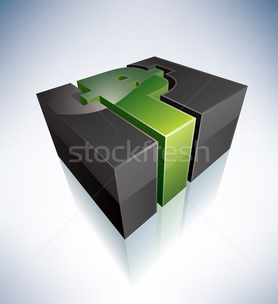 3D Sign: Peso Stock photo © Vectorminator