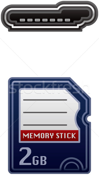 Memory Card Stock photo © Vectorminator