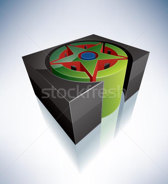 3D религии современных языческий Сток-фото © Vectorminator