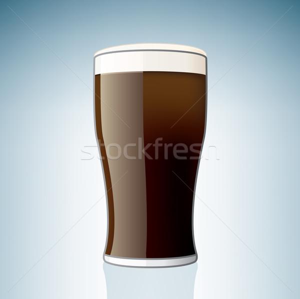 Сток-фото: пива · стекла · алкоголя · пить · Tulip