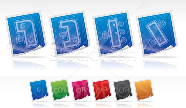 Сток-фото: служба · поставлять · вектора · цветами