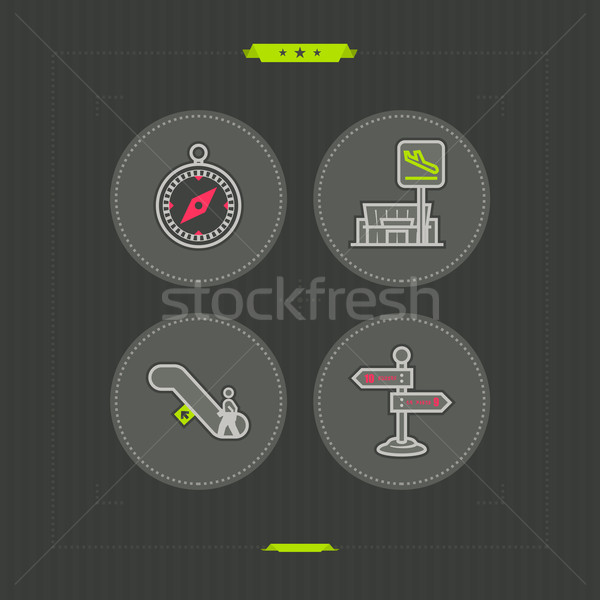 Summer vacation Stock photo © Vectorminator