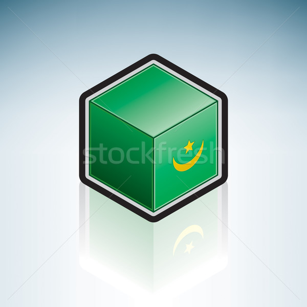 Mauritania { Africa } Stock photo © Vectorminator