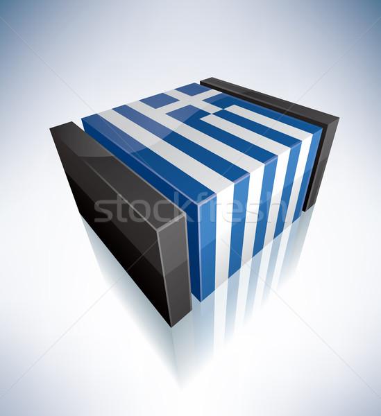 Hellenic Republic Stock photo © Vectorminator