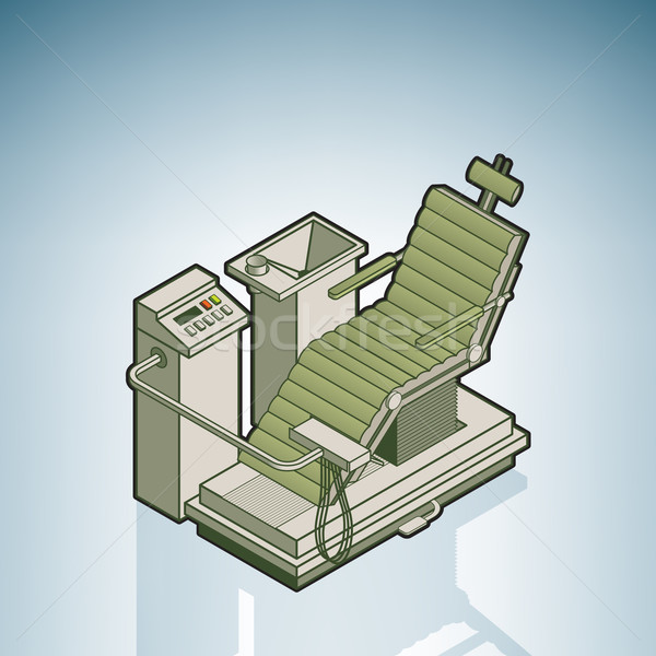 Dentist Chair Stock photo © Vectorminator