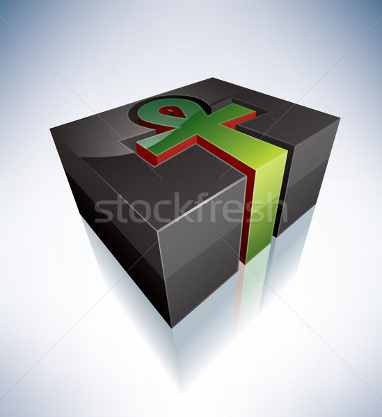 3D Religion: Kemetism Stock photo © Vectorminator