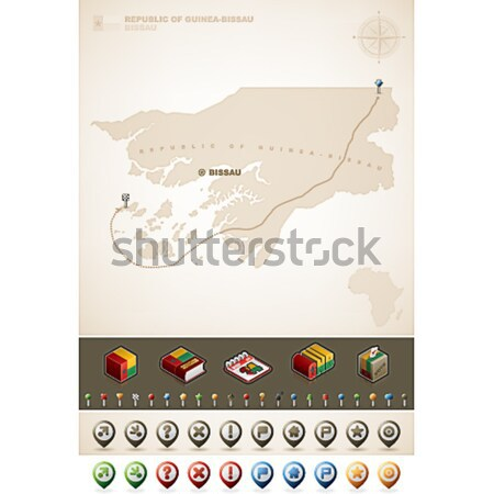 Kingdom of Morocco Stock photo © Vectorminator