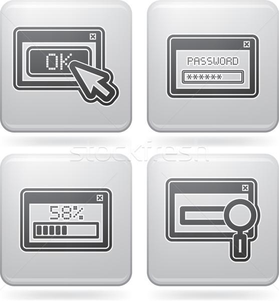 internet ikonen computer teile zubeh r hierher. Black Bedroom Furniture Sets. Home Design Ideas