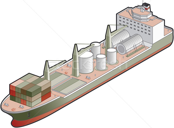 Cargo Ship Stock photo © Vectorminator