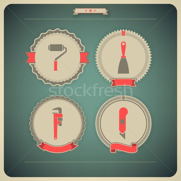 Work tools Stock photo © Vectorminator
