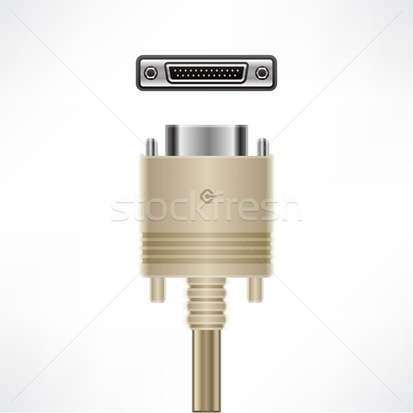 SCSI Cable Stock photo © Vectorminator