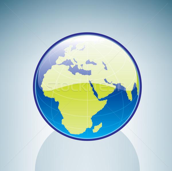 ストックフォト: 世界中 · 3D · アイソメトリック · にログイン · 緑