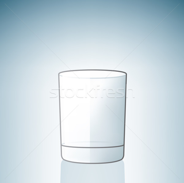 Stock photo: Empty Beer Glass