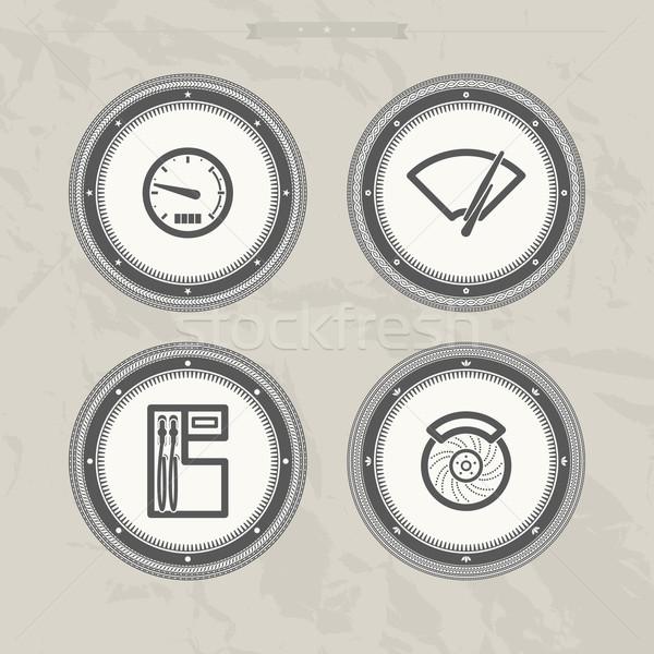 Car parts Stock photo © Vectorminator