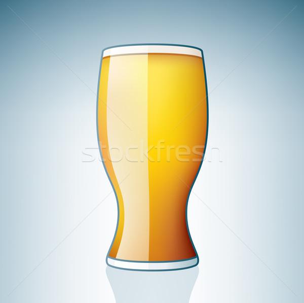 Сток-фото: стекла · алкоголя · пить · белый