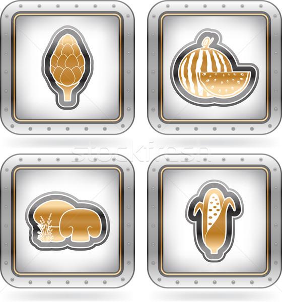 Vegetarian food Stock photo © Vectorminator