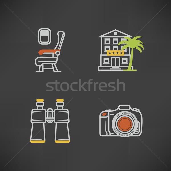 Summer vacation Stock photo © Vectorminator