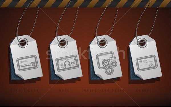 Kantoor leveren objecten tools top Stockfoto © Vectorminator