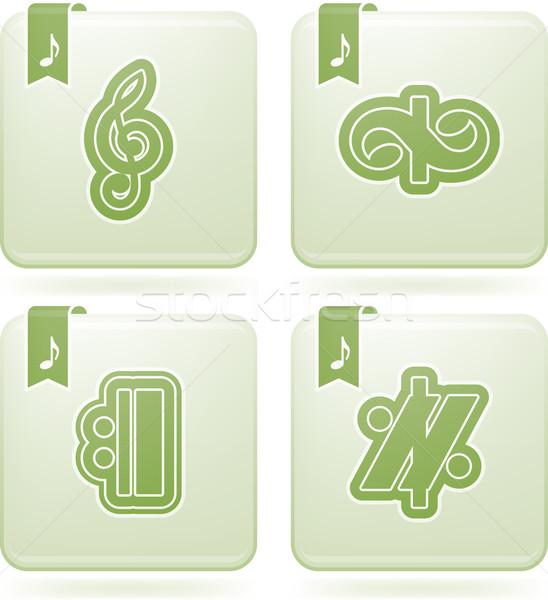 Musical notation Stock photo © Vectorminator