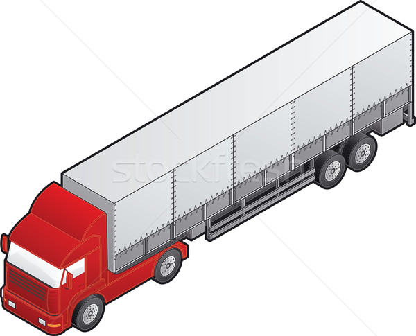 Truck Stock photo © Vectorminator