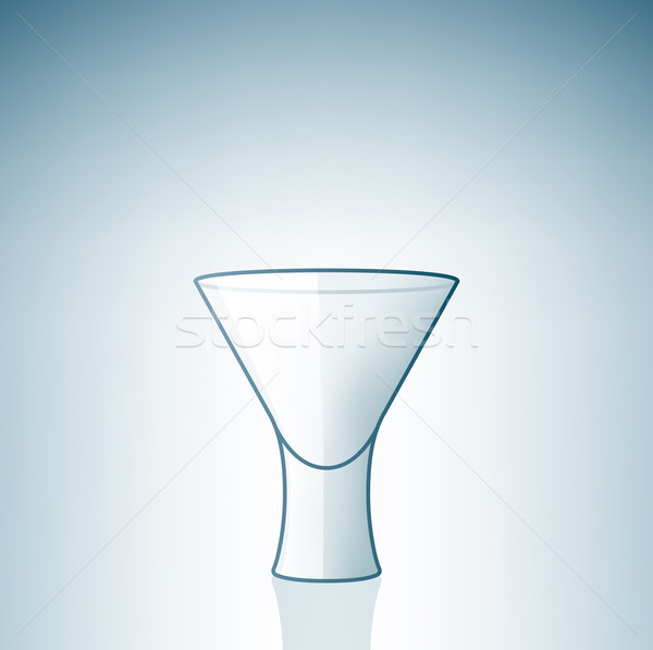 Empty Vodka Shoot Glass Stock photo © Vectorminator