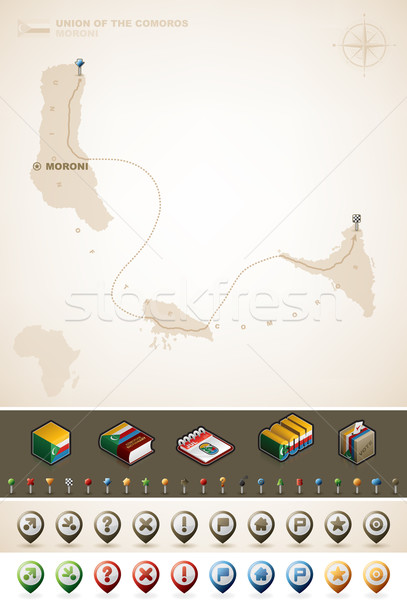 Comoros Stock photo © Vectorminator