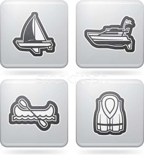 Ships and boats Stock photo © Vectorminator