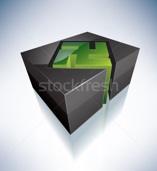 3D Religion: Jain Stock photo © Vectorminator