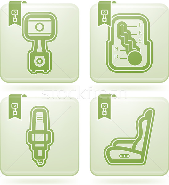 Car parts Stock photo © Vectorminator