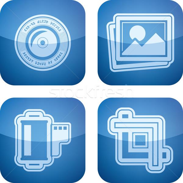 фотографии инструменты оборудование здесь право Сток-фото © Vectorminator