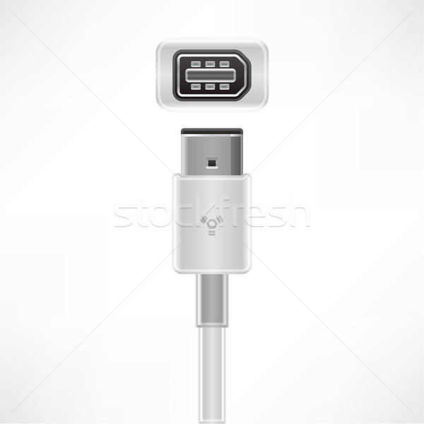 Firewire cable Stock photo © Vectorminator