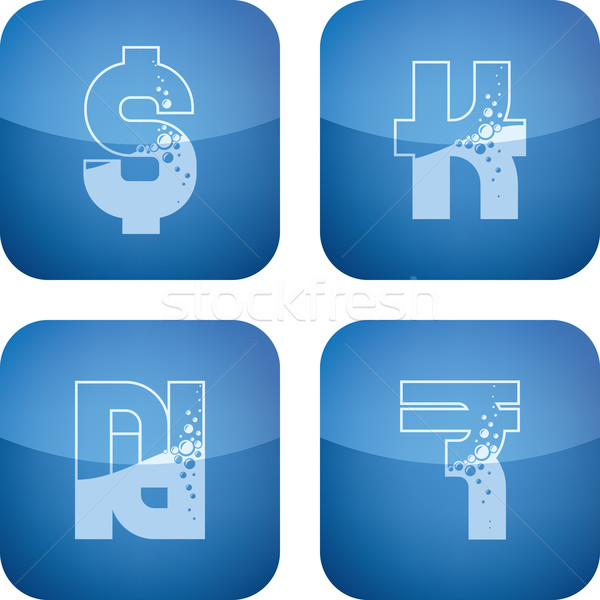 Money symbols Stock photo © Vectorminator