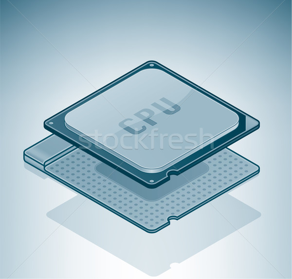 Computer Processor  Stock photo © Vectorminator
