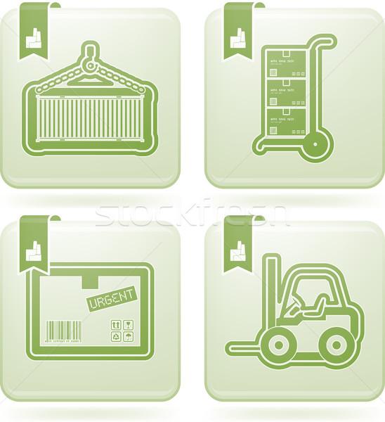 Industry Icons: Transportations Stock photo © Vectorminator