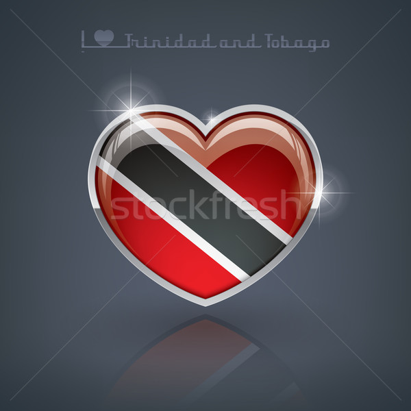 Trinidad and Tobago Stock photo © Vectorminator