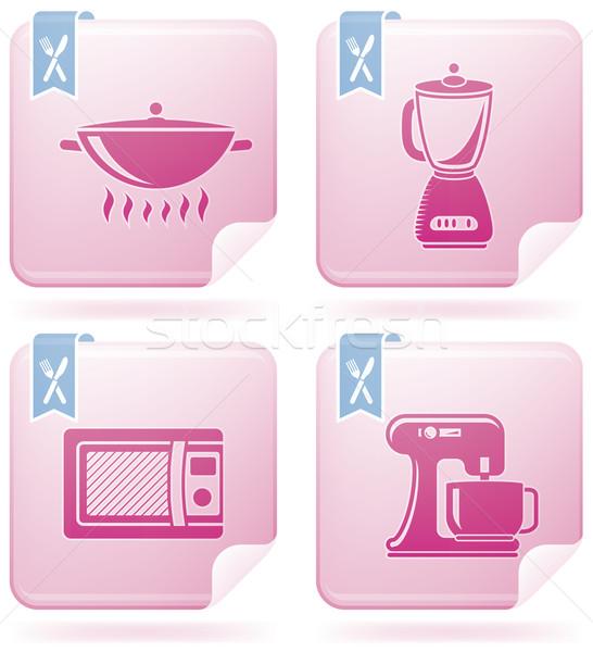 Foto d'archivio: Cucina · quotidiano · strumenti · Flamingo · piazza