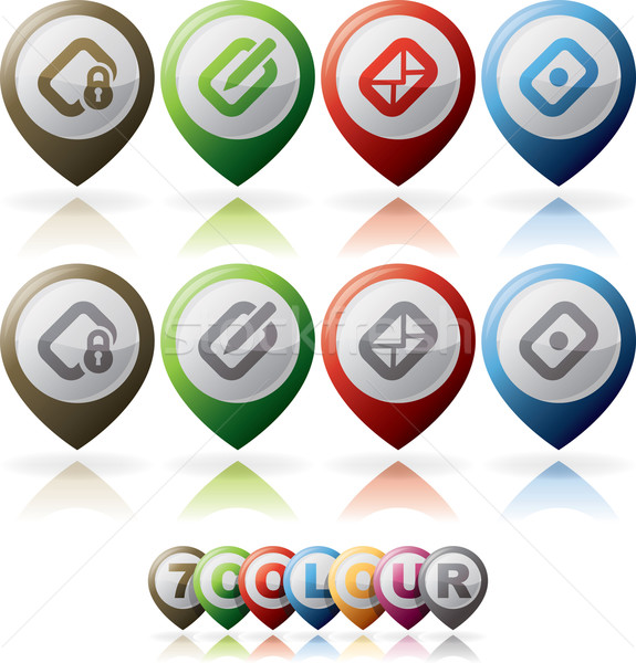 Computer Icons Stock photo © Vectorminator