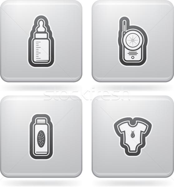 赤ちゃん 生まれる 食品 オブジェクト ストックフォト © vectorminator