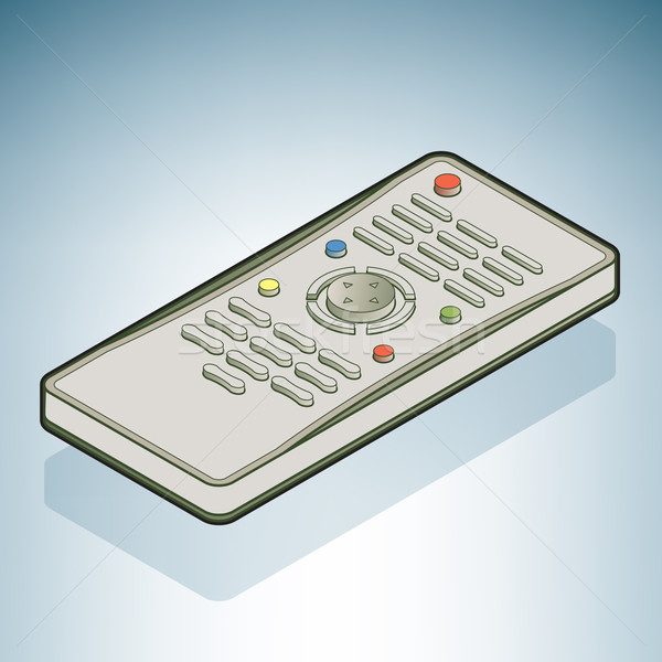 Stock photo: TV Remote