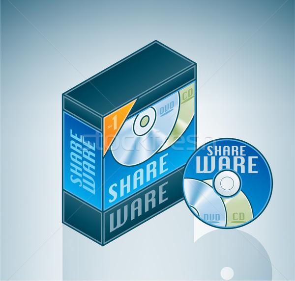 Shareware Software Bundle Stock photo © Vectorminator